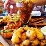seafood platter @ Pantay restaurant in Coronado, Panama
