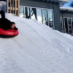 snow tubing hill