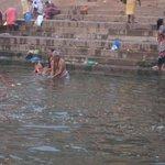 More bathing in Ganges