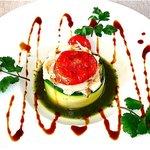 tartare de tomate au brocciu