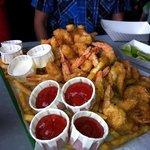 Shrimp Botana Platter