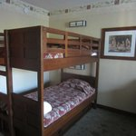 bunkbeds, sleep three with the pull out trundle