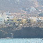 View of Hotel from Naxos Hora