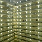 Atrium looking out from 13th floor