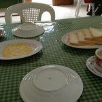 makan pagi yang sederhana