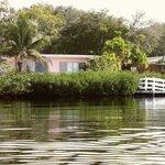Siesta Keu Bungalows from the Lagoon