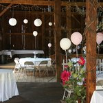 Barn for reception