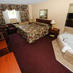 King size jacuzzi suite