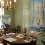Dinning room with Stella Painting