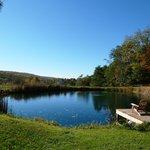 The inn pond