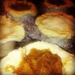 Oxtail puddings
