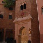 golden doors to La Sultana