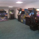 Arcade area located next to pool area