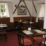 Dinnig room at The Stratton Arms Turweston NN13 5JX
