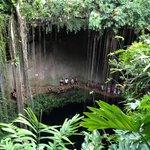 Cenote. Chichen itza