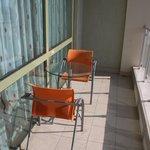 VIP room - balcony