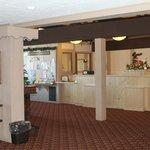 Main hotel lobby