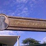 Cooks Beach sign