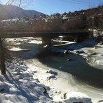 Animas River with bridge