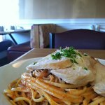 One of the pasta specials