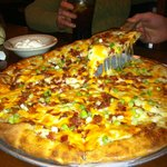 Loaded Baked Potato Pizza...unexpectedly delicious.
