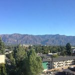 view from our room - San Gabriel Valley
