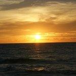 Pôr do sol inesquecível