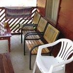 Porch cabin Anaula Resort