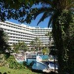 Hotellet med bassengområde