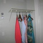 No closet