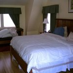 The king size bed