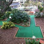 Area esportiva - Mini Golf