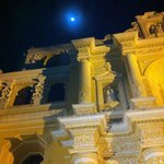 Moon over La Mercred Church