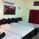 room 102, accommodate 4 in one room.. very good