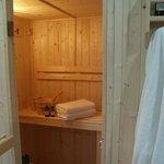 Sauna de l'espace bien-être
