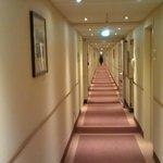 Faaaar away from the elevator :-)