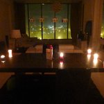 our beautiful honeymoon of 2 year candle lite dinner