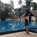 Huge hotel pool