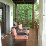 lagoon suite balcony