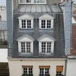 Views out over the rooftops of Paris