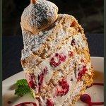 Raspberry Hazelnut Torte