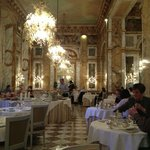 The restaurant at breakfast, still a truly grand enivonment to dine in