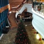 beautiful sweeping staircase