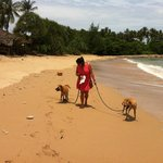 Beach walk on Koh Lanta