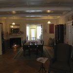 dining room and front parlor