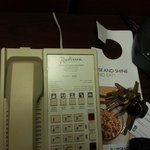 non-working Phone in room 100 read 112!