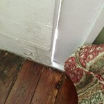Big crack in rotton front door