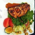 lunch Salmon Teriyaki