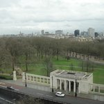 Daytime view from our room at Intercontinental Park Lane