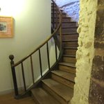 Stairwell had a quiet, old-world charm